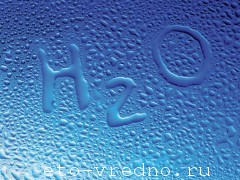 Польза и вред воды